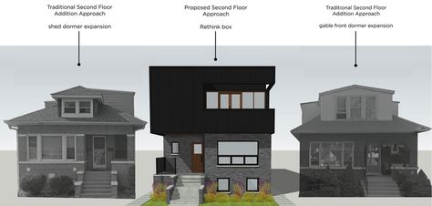 15 Bungalow With New Second Floor Ideas In 2021 House Styles House Exterior House Design