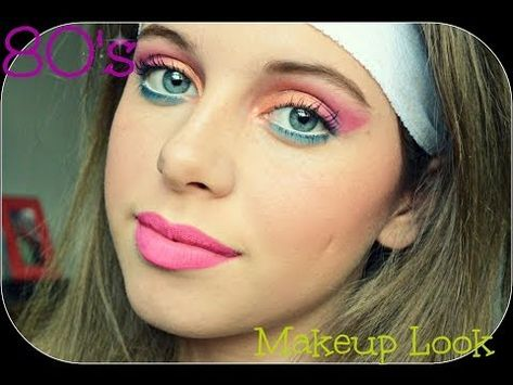 80 S Makeup Tutorial Youtube 80s Makeup Tutorial 80s Makeup 80s Eye Makeup