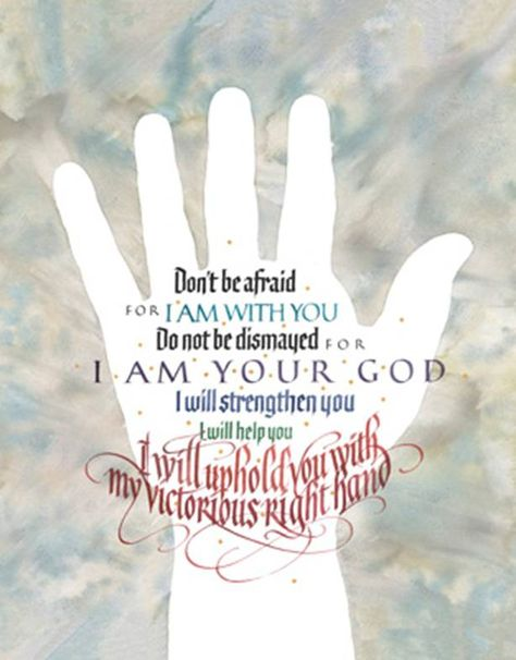 Bookmarks Isaiah 41:10 Pack of 25 Fear Thou Not for I Am with Thee