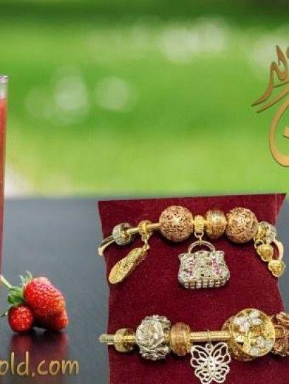 اسوره ذهب عيار 18 اسوره نص طقم اساور Bracelets اللون 3 لون اصفر وابيض وروز جولد العيار 18 الوزن تقريبا من 15 الى 25 جرام Gold Jewelry Earrings