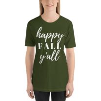 Happy Fall Y'all from Shop Simple Tees