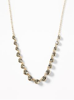 Faux-Gem Statement Necklace for Women | Old Navy