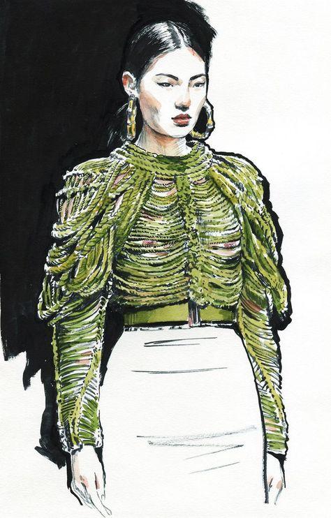 Mode-Skizzen. #art #fashionillustration #fbloggers #bbloggers -   #  #art #bbloggers #fashionillustration #fbloggers