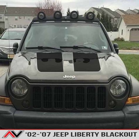<p><strong>Blackout Hood Decal available in avarietyof finishes, comes with application kit and fits aJeep Liberty KJ 2002-2007. Comes with a full installation kit everything you need inside!  $13.95 installation kit included with each blackout purchase free!</strong></p> <p></p>