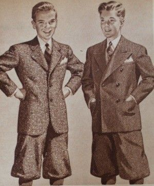 1940s Teenage Fashion For Boys And Young Men Pictures 1940s