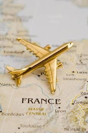 Avión sobre Francia