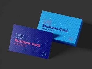 Uk Business Card Mockup Business Card Mock Up Mockup Branding Mockups