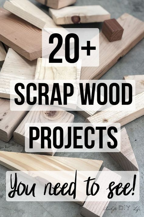 26 Simple Scrap Wood Projects For Beginners In 2020 Scrap Wood Projects Easy Small Wood Projects Wood Projects For Beginners