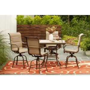 Home Decorators Collection Sun Valley 5 Piece Aluminum Outdoor