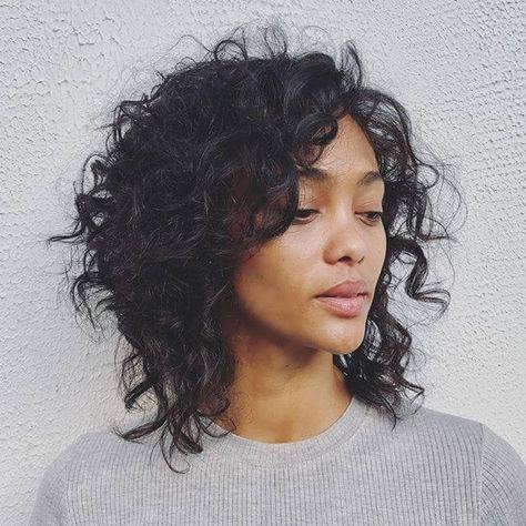 40 Stunning Curly Short Haircuts July 2019 Ig Collection Short Curly Haircuts Curly Hair Styles Thin Wavy Hair