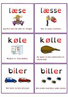 Find Forskellen E Med Billeder Sjov Skole Laesevejledning Korte Vokaler