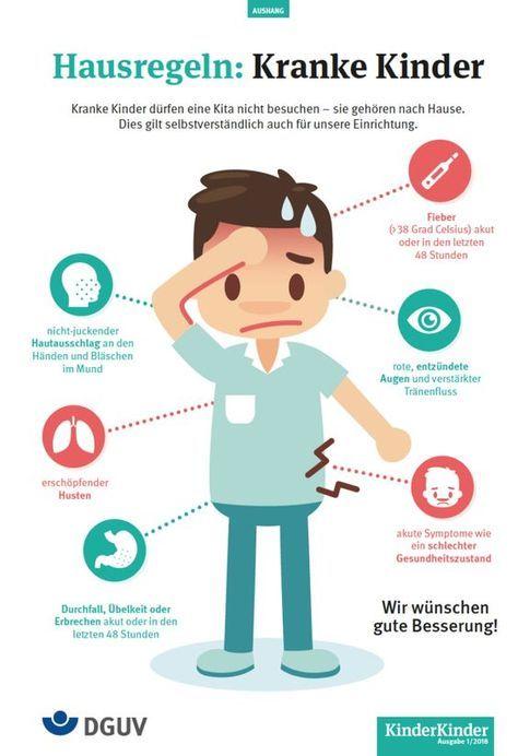 Hausregeln Kranke Kinder Kinderkinder Kind Krank