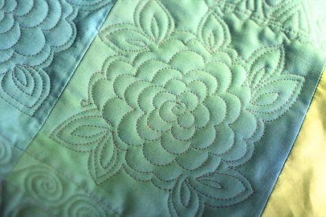 FMQ chrysanthemum and spirals - OliviaQuilt2.web