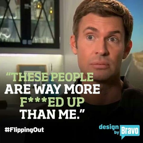 Jeff Lewis flipping out