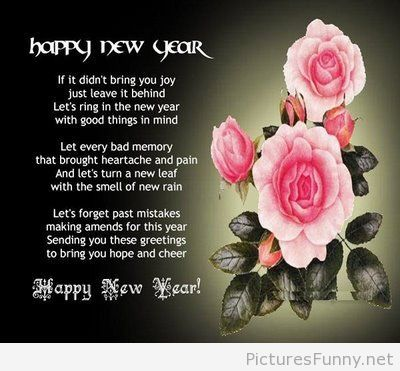 poem new year greetings