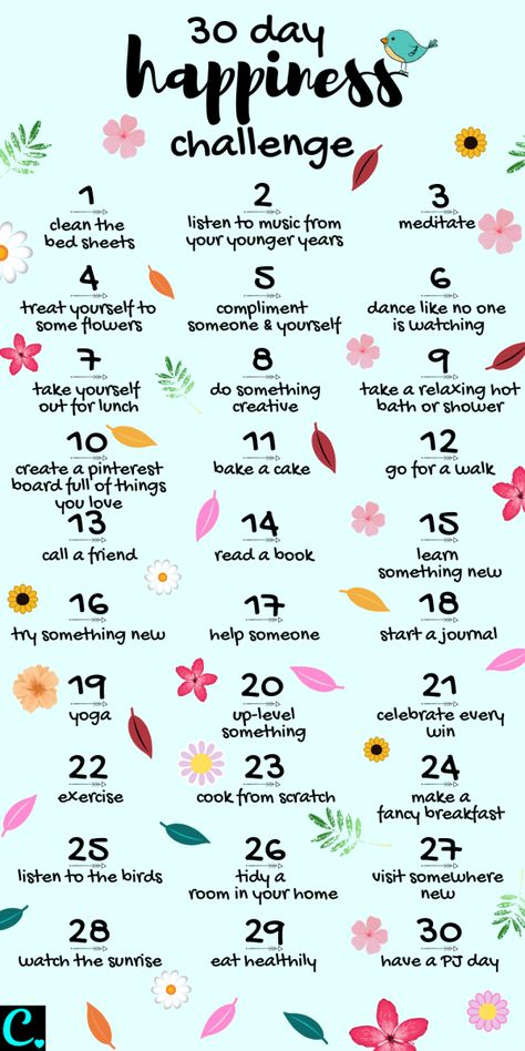 Want To Know How To Be Happy? Take This 30 Day Happiness Challenge! - Captivating Crazy Want To Know How To Be Happy? Take This 30 Day Happiness Challenge! - Captivating Crazy,Self-Care & Self-Love 30 Day Happiness Challenge Infrographic 30 Tag, What To Do When Bored, Things To Do When Bored For Teens, Vie Motivation, Morning Motivation, Sport Motivation, Business Motivation, Motivation Boards, Health Motivation