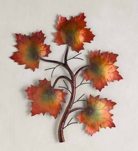 Metal Maple Leaf Wall Art That Would Work For Any Season Of