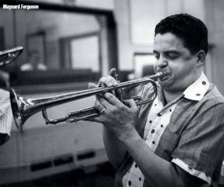 Maynard Ferguson in the mid-1950s (EmArcy Records) | Jazz artists, Maynard  ferguson, Trumpet music