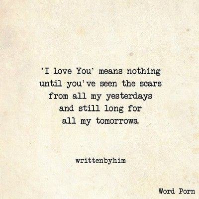 9 Love Quotes From Word Porn That Are Just Too Honest!