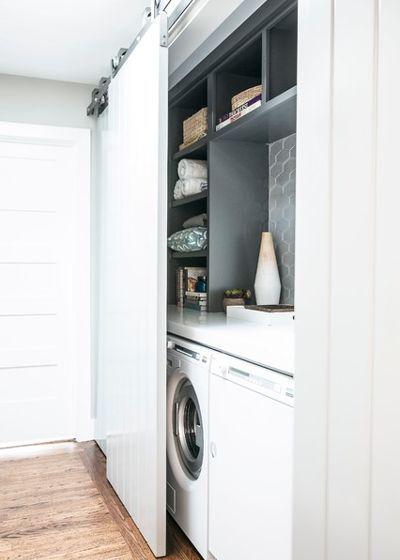 Contemporary Laundry Room By Caitlin Jones Design Modern Laundry