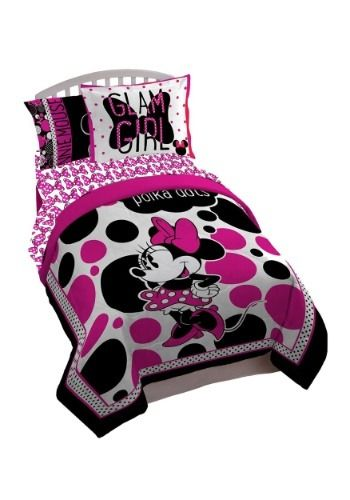 Rock The Dots Minnie Mouse Twin Full Comforter Minnie Dots