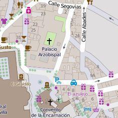 Large detailed tourist map of Seville Maps Pinterest Tourist