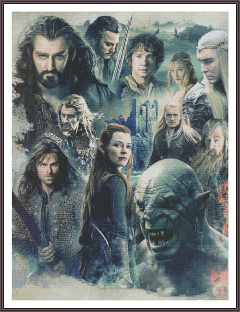 The Hobbit: The Battle of the Five Armies ~ Get Tauriel and Azog out of the front and this would be good. I'd be even better if you got rid of Tauriel all together.