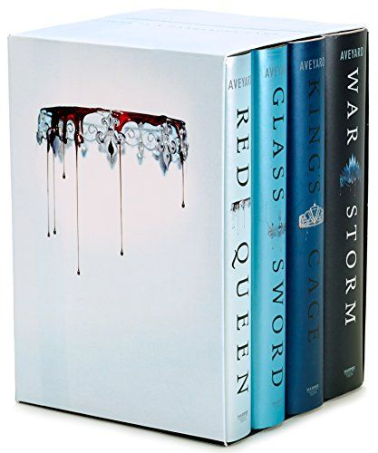 Download Pdf Red Queen 4 Book Hardcover Box Set Books 1 4 Free