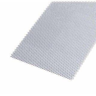 Tôle Acier Métal Déployé Brut Gris L12 X L100 Cm Ep12 Mm