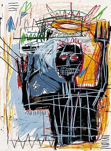 Furious Man, de Jean Michel Basquiat