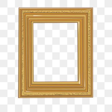 Rectangular Photo Frame Hand Drawn Illustration Rectangular Photo Frame Golden Photo Frame Beautiful Photo Frame Png Transparent Clipart Image And Psd File F Photo Frame Design Photo Frame Frame