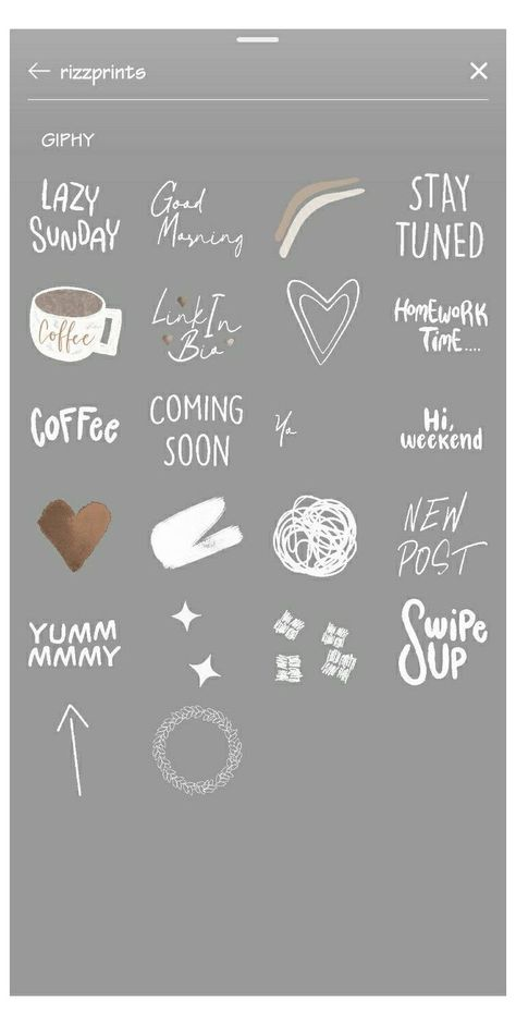 cool stickers instagram
