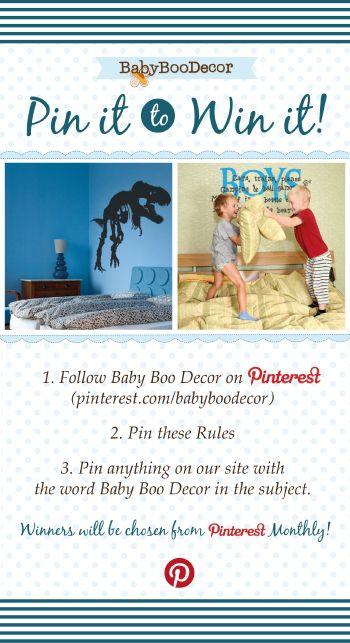 Baby Boo Decor - #Pin it to Win It! #vinyl wall art #wall art #vinyl