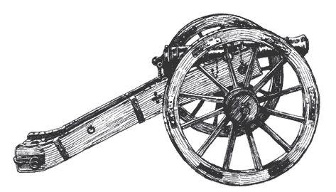 A history on the Alamo cannon.