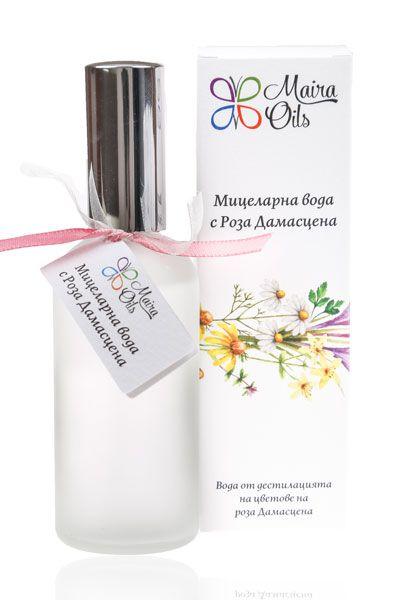 Micellar Water With Rosa Damascena Maira Oils Oils Micellar Water Skin Care
