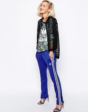 Adidas Originals - Jogginghose mit 3 Streifen - Blau ...