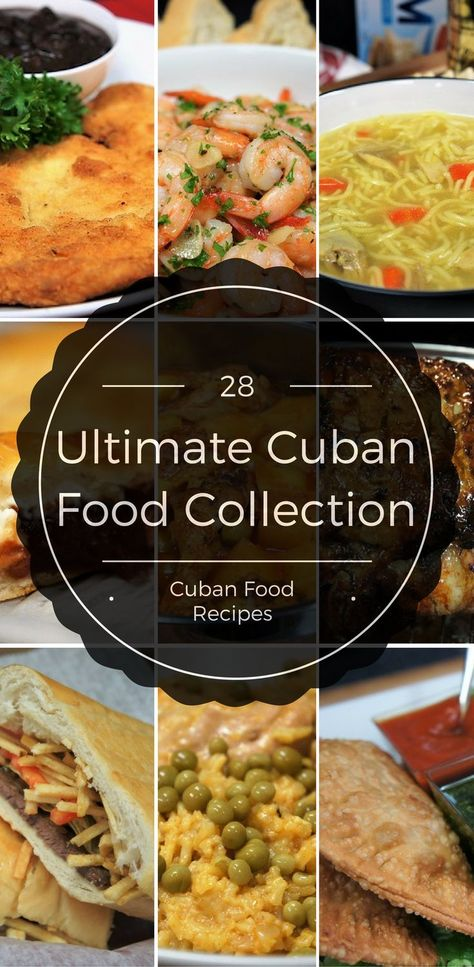 We've put together a collection of Cuban food recipes that will inspire you to taste the Tropics. Here you'll find traditional Cuban favorites, Cuban classics with a modern twist, and healthy-ish versions of Cuban comfort-food. Mexican Food Recipes, New Recipes, Cooking Recipes, Favorite Recipes, Healthy Recipes, Ethnic Recipes, Latin Food Recipes, Brazilian Food Recipes, Cuban Dishes