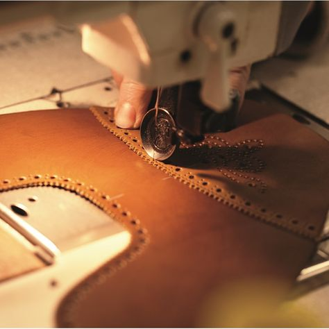 Each pair of #BestOfBritish shoes takes up to 8 weeks to complete, thanks to a detailed handcrafting process