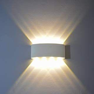 Wandleuchte LED Modern weiss Warmweiß