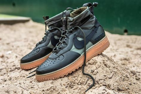 Nike Air Force 1 WTR GTX. Would you wear it? . Comment your