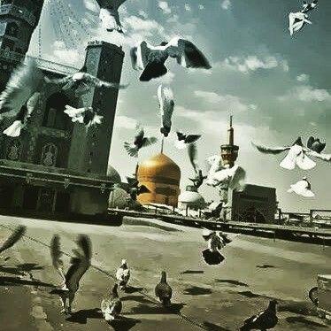 يا علي بن موسى الرضا Art Painting