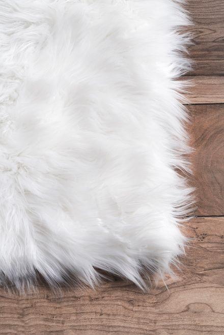 Rugs Usa White Downy Simply Soft Solid Shag Rug Shags Rectangle