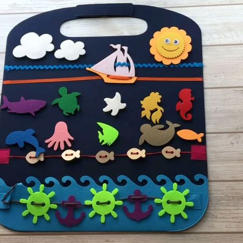 Does your child get tired and fussy in car seat durind car ride? Do you want your kid has fun and some interactive game that can keep your Little One busy and interested? Then this Play mat is for you!