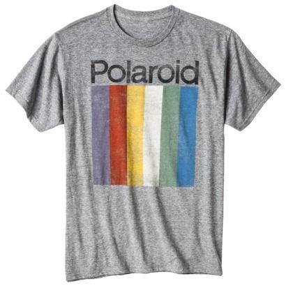 NEED / Polaroid Men's Graphic Tee - Heather Gray / $12.99 / Target