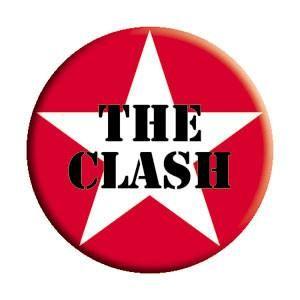 """The Clash 'Star Logo' Pin - 1-1/2"""""""