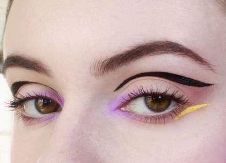 Pop art makeup lips eyeliner 20+ Super Ideas