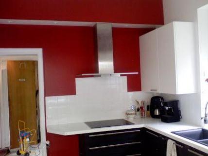 17 Beau Photos De Peinture Rouge Cuisine Peinture Rouge Couleur Peinture Cuisine Armoire De Cuisine