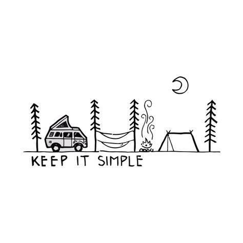 Check out this awesome 'keep+it+simple' design on @TeePublic!