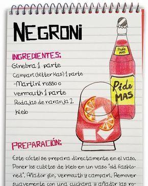 Jeanclaudevolldamm Negroni Receitas De Bebidas Drinks Receitas