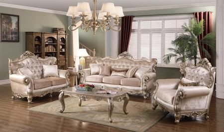 Emily Collection Emilylivingroomset 5 Piece Living Room Set With